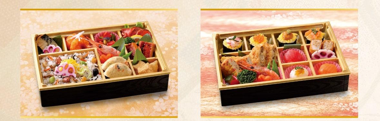 「彩り膳」「手まり膳」商品写真